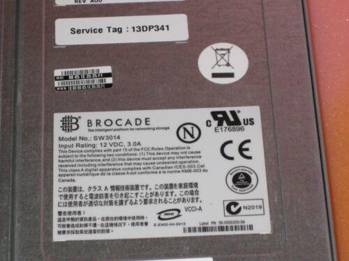 NEW  Dell PowerEdge 1855 Brocade 4-Port Fibre Switch Box SW3014 T8560