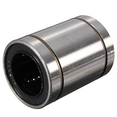 NEW 1PC LM20UU 20mm Inside Dia Linear Motion Ball Bush Bearing Bushing Silver