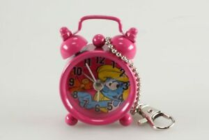 DéVoué Horlogerie Schtroumpfs (les) Mini Réveil, Schtroumpfette Rose Kmb