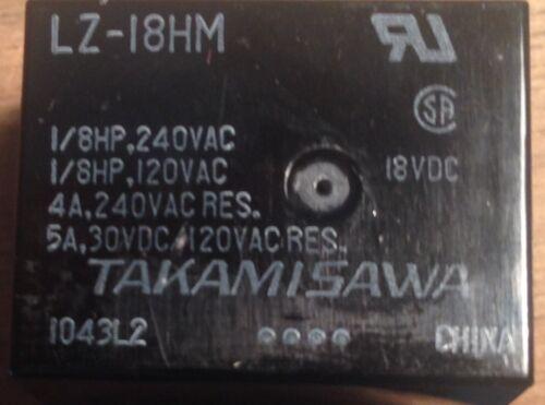 Fujitsu LZ-18HM Relay x 5