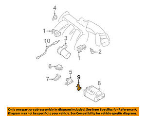Nissan Oem 0204 Altima 25ll4 Emissionpressure Valve 149355m00b. Is Loading Nissanoem0204altima25ll4. Wiring. 2 5l Engine Emission Diagram At Scoala.co