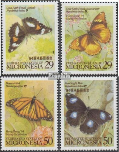Mikronesien 340343 complete.issue. unmounted mint never hinged 1994 Butterf
