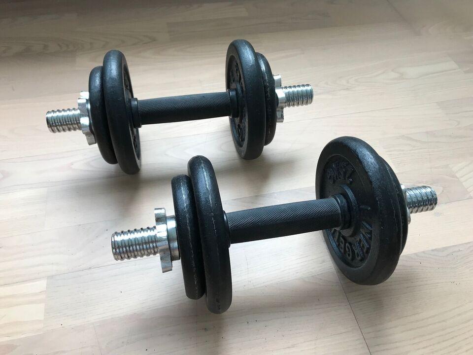 Håndvægte, Håndvægtsæt, Energetics
