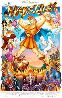 "T1 Movie  Collector/'s  Poster Print - B2G1F Disney  Hercules 11/"" x 17/"""