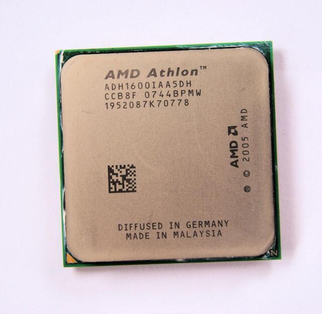 AMD Athlon 64 (ADH1600IAA5DH) Single-core 2.2GHz Socket AM2 Processor CPU