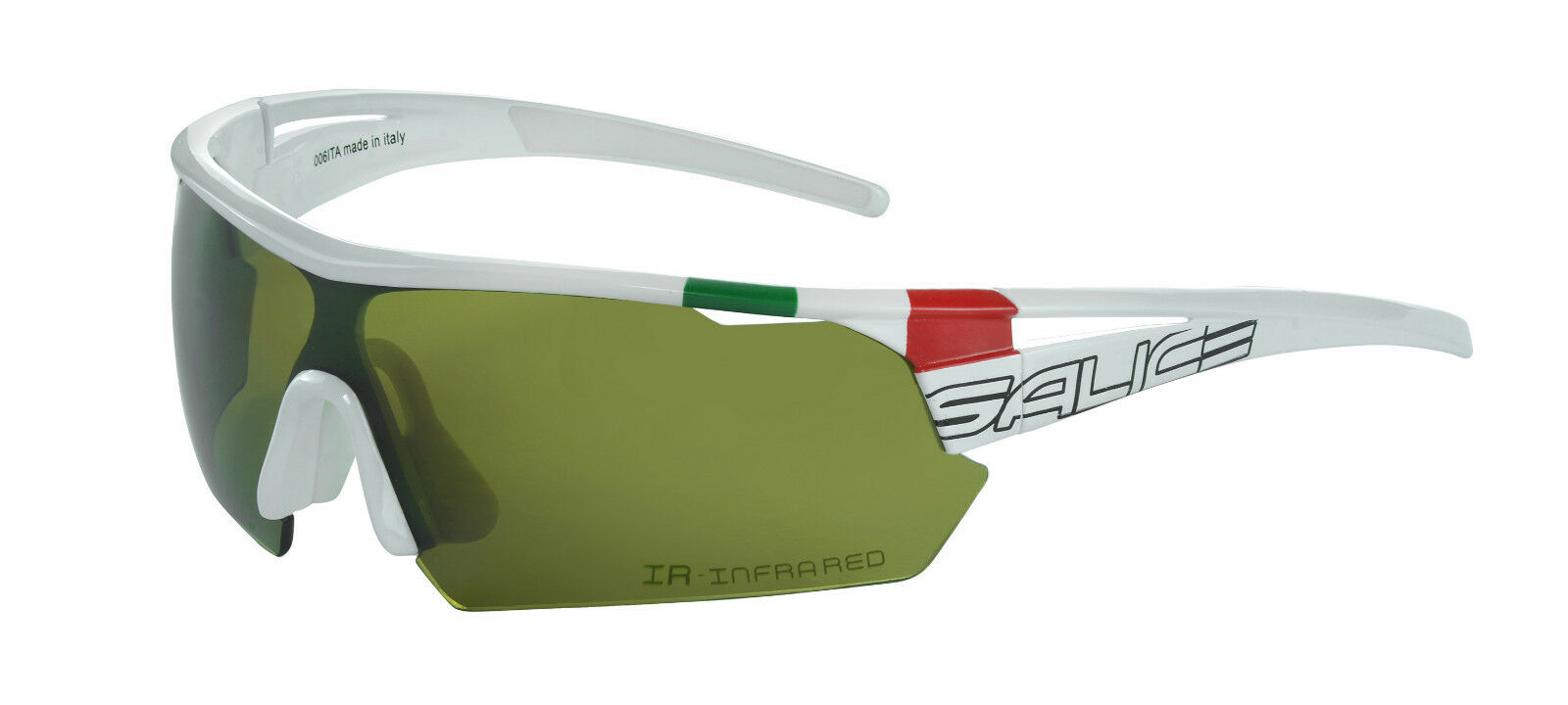 Sunglasses SALICE 006ita MOD.  White Lens Rainbow Infrared Glasses SALICE 006ITA  save 35% - 70% off