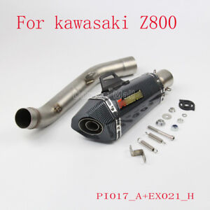 Motorcycle Exhaust Mid Middle pipe modifiée Lien Tubes pour KAWASAKI//HONDA//YAMAHA