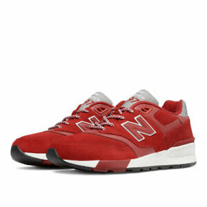 new arrival fb090 7cea9 Details about {ML597HTC} New Balance Men's 597 Lifestyle Red*NEW*