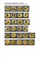 Emblem /& Schild mit Gravur Pokal 3er Serie H 24,5//27,5//30,5 cm Pokale inkl