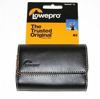Lowepro Sorrento 10 Genuine Leather Compact Digital Camera Case- Black Brand