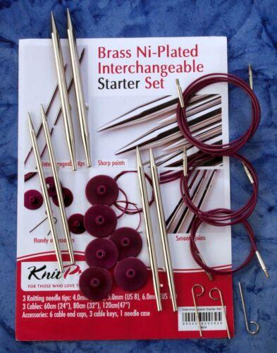 Knit pro metal-aguja Starter-set 10604