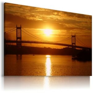 NEW-YORK-CITY-View-Canvas-Wall-Art-Picture-Large-SIZES-L131-X
