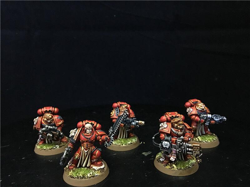 25mm Warhammer 40K 40K 40K DPS painted Blood Angels Sternguard Veteran Squad AP5941 3fa060