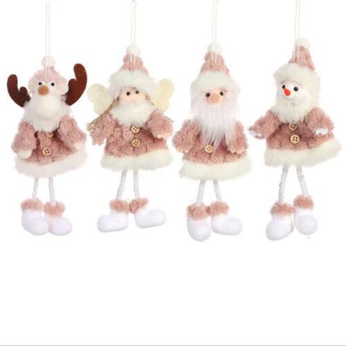 Party Xmas Tree Making Pendant Hanging Angel Doll CHRISTMAS Decor Mini Plushies