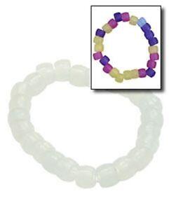 Image Is Loading 24 Uv Sunlight Color Changing Beaded Bracelets Amazing