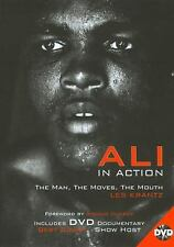 Ali in Action : The Man, the Moves, the Mouth Les Krantz 2008 Hardcover DVD FREE