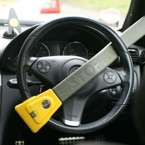 Stoplock Steering Wheel Immobiliser Lock High Security Anti Theft Clamp Locking