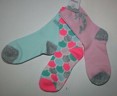 New Girls White Ballerina Socks 2-3 yrs OR 3-6 yrs