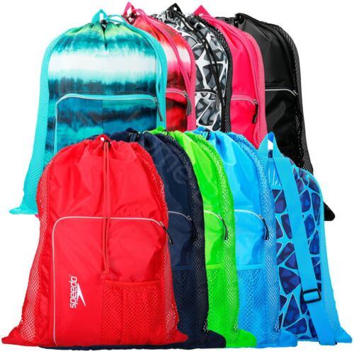 Speedo Ventilator Mesh Equipment Swimwear Swimming Pool Bag Backpack