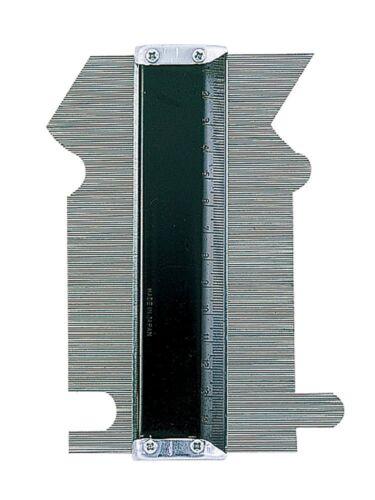 Japanese SHINWA 150mm measurement Ruler moulage gauge form contour model 77970
