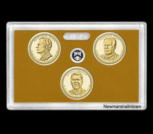 2013 S Presidential Proof Dollar Set  No Box or Coa