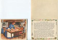 VINTAGE COLONIAL COOK BOSTON BAKED BEANS NEW ENGLAND BOILED DINNER RECIPE PRINT