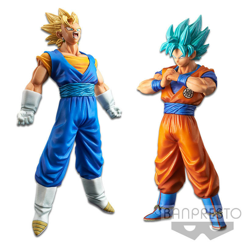DRAGON BALL SUPER - Banpresto DXF THE SUPER WARRIORS vol.4 Vegito Goku SSJ Blau