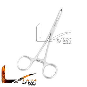 """O.R. Grade Allis Tissue Forceps 7"""" 5 x 6 Teeth Surgical Stainless Steel New"""