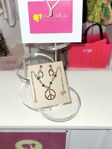 """Integrity Toys Poppy Parker ENLIGHTENED IN INDIA 12"""" Dolls  peace ✌jewelry set"""