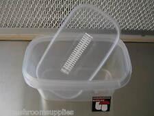 Setas/orquídea cultura bote filtro contenedor (PF Tek) 5 pack - autoclave seguro