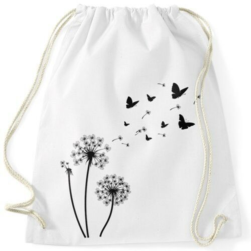 Turnbeutel Pusteblume Schmetterlinge Dandelion Butterflys Autiga®