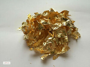 Gold Leaf flakes 1/g copper