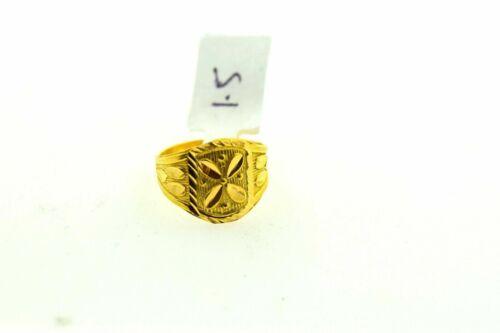 "22k Ring Solid Gold ELEGANT BABY children KIDS Ring /""RESIZABLE/"" size 3  R434 mf"