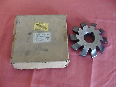 Set 8Pcs Module 4 PA20 Bore27 1#2#3#4#5#6#7#8# Involute Gear Cutters M4
