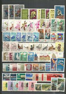 DDR-1968-gestempelt-kompletter-Jahrgangmit-allen-Einzelmarken-gute-Stempel