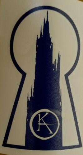 Dark Tower  Cut Vinyl Sticker//Decal Stephen King TDT Dark Tower