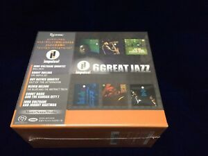 Details about 16 GREAT JAZZ, impulse! / ESOTERIC Japan, 6 titles SACD BOX  SET NEW