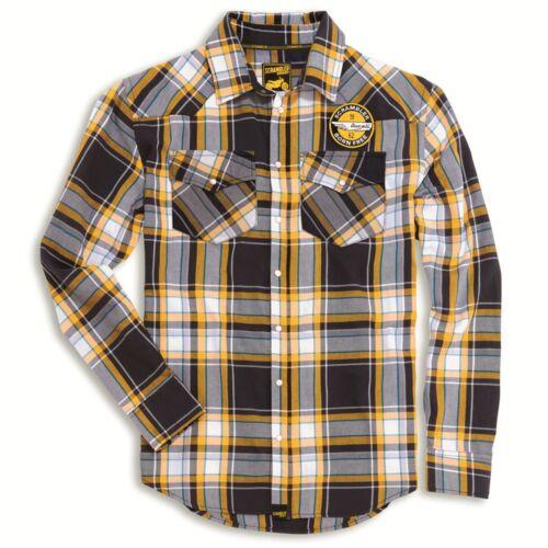 DUCATI Scrambler Raccolta A Scacchi Button-down shirt 98769174 NUOVO