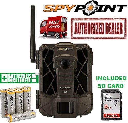 GG Telecom Link-EVO Spypoint Link-Evo Celular 4G 12mp Cámara Trail AA SD Paquete