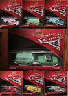 Disney Pixar Cars 3 McQueen, Storm, Fillmore, Cruz Ramirez, Flo, Reb Meeker