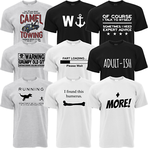 """Men/'s Funny Slogan T-Shirt  /""""W/"""" with image of an anchor Great Gift Brother//Son"""