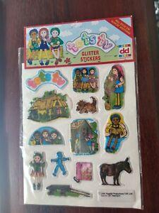 ACTION MAN 1999 Glitter Stickers Dekkertoys Ltd