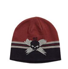"""Harley-Davidson Berretto """"Red Skull"""" Cappello invernale 97641-16VM Taglia unica"""