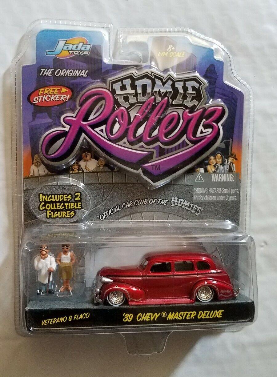 precios razonables Jada Juguetes 1 64 escala tu novio Rollerz'39 Chevy Chevy Chevy Master Deluxe 2 Figuras Envío Gratis  compras online de deportes