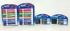 Expo Low Odor Chisel Tip Amp Fine Tip Dry Erase Markers Lot Of 4 24 Markers