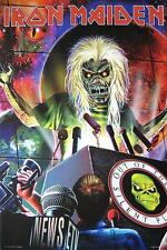 "IRON MAIDEN POSTER ""OUT OF THE SILENT PLANET"""