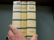 Capital by Karl Marx 3 volume set Progress Publishers Moscow 1971 rare complete