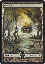 TCG MtG 167 Magic the Gathering Zendikar Full Art Land  Swamp/Sumpf