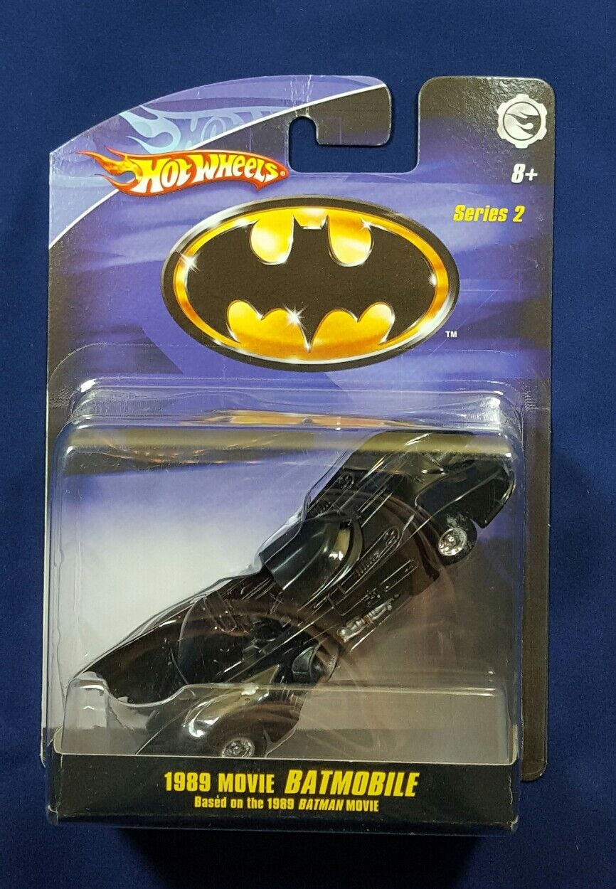 Hot Wheels Batman Batman 1 1 1 50 - 1989 película Batimóvil 1 50 - Series 2 - 2008 13156a