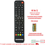 miniatura 3 - Telecomando Universale Compatibile Tv Lcd Led Televisore Decoder Ricevitori Dvd